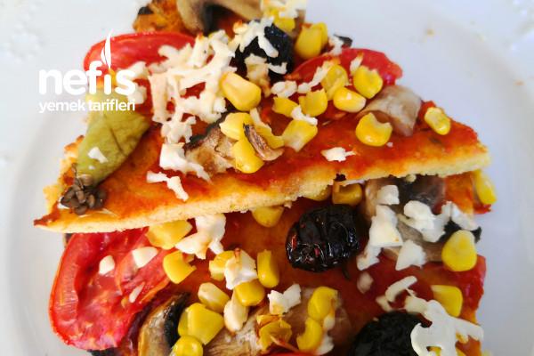 Mısır Unlu Pizza Tarifi