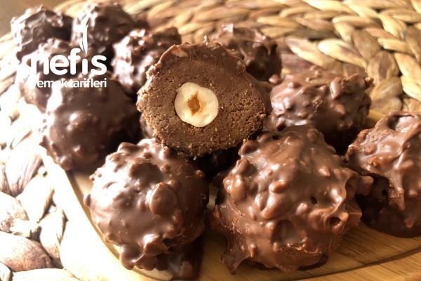 Sadece 4 Malzeme İle Nefis Bir Lezzet- Ferrero Rocher Tarifi (Videolu)