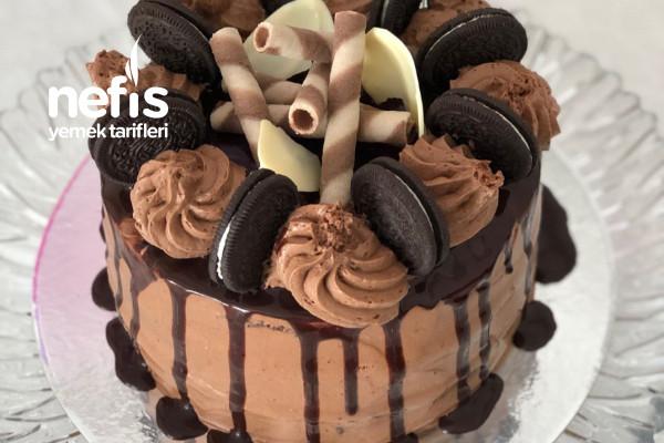 Teremyağlı Çikolatalı Pasta Tarifi
