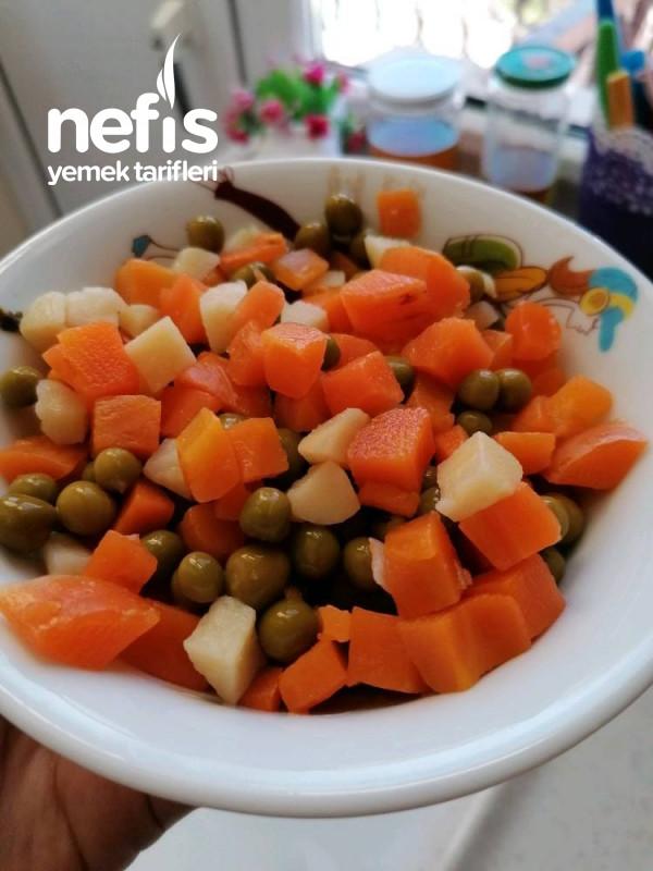 Garnitürlü Patates Yemeği