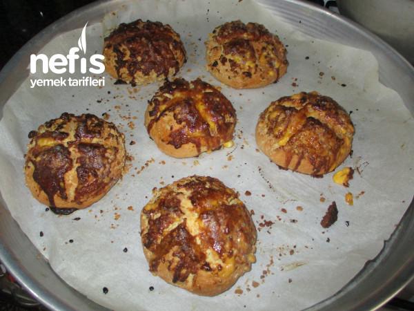 Teremyağlı Fındıklı Evyapımı Pastane Kurabiyesi