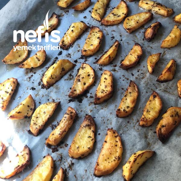 Fırında Elma Dilimi Patates