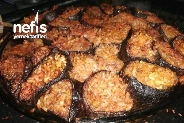 Fırında Patlıcan Dolması Tarifi