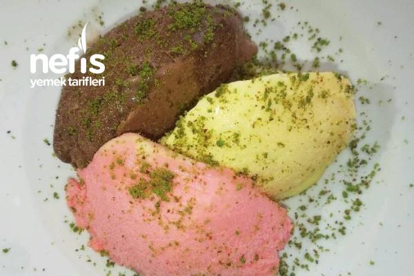 Dondurma Tarifi (Üç Renk)