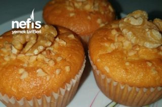 Limonlu Bademli Muffins Tarifi