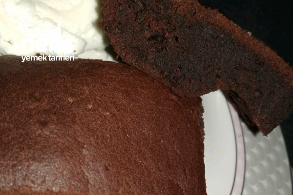 Teremyağlı Tam Ölçülü Brownie