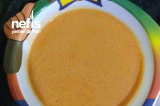 Bebekler İçin Kırmızı Biber Çorbası Tarifi