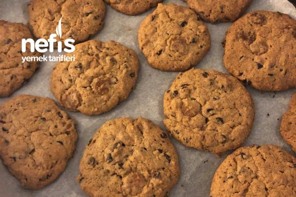 Damla Çikolatalı Kurabiye (Cookie) Tarifi