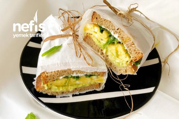 Kahvaltılık Diyet Sandviç Tarifi