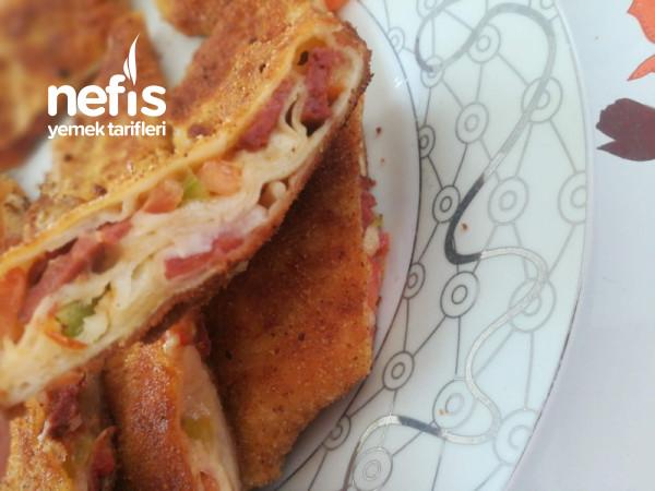 Kahvaltılık Kapalı Pizzalar