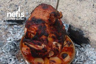 Odun Ateşinde Tavuk Tarifi