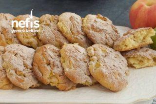 Teremyağlı Elmalı Kek Kurabiye (10 Dakikada) Tarifi