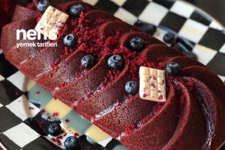 Beyaz Çikolatalı Kırmızı Kadife Kek Tarifi