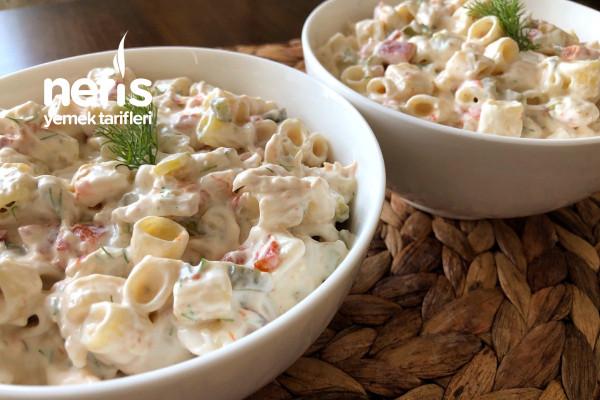 Biz Bu Lezzete Bayılıyoruz Tavuklu Makarna Salatası Tarifi Videolu
