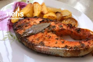 Fırında Soslu Somon Balığı(Videolu) Tarifi