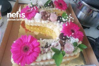 Harf Pasta Doğum Günü Pastası Tarifi