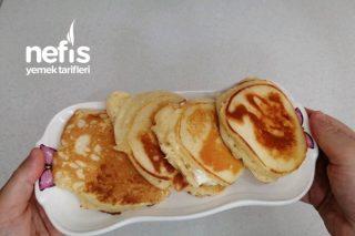 İçi Bol Peynirli Tuzlu Pankek Tarifi