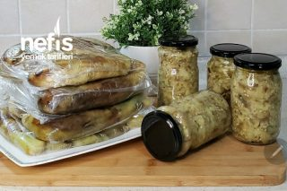 Kavanozda Köz Patlıcan Tarifi