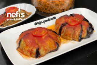 Porsiyonluk Nefis Patlıcan Kapama Tarifi