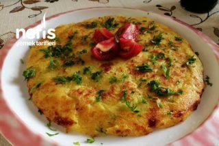 Sebzeli Patates Röşti (Kahvaltı İçin) Tarifi