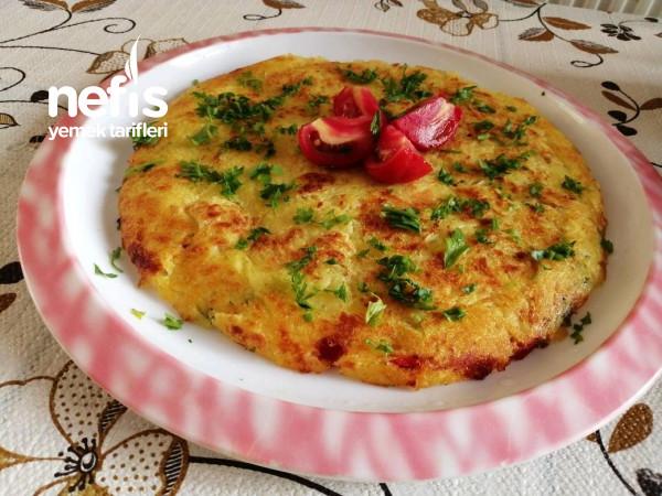 Sebzeli Patates Röşti (Kahvaltı İçin)