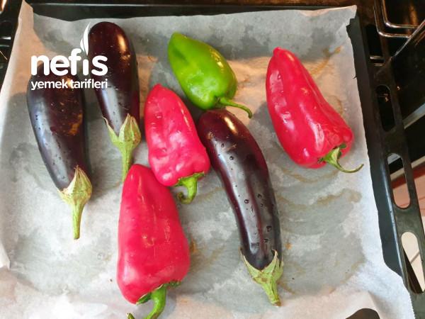 Köz Biberli Patlıcanlı Salata