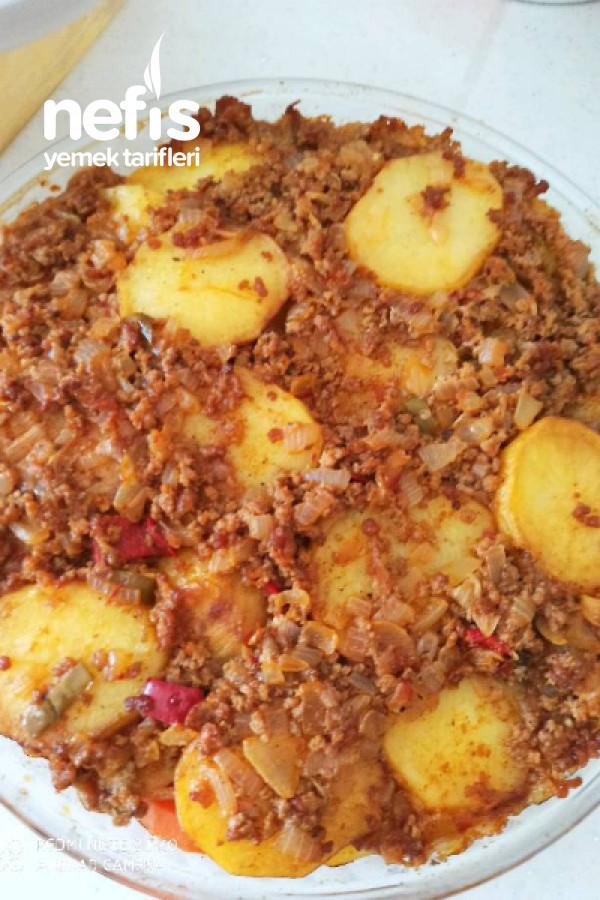 Patates Oturtma (Lezzeti De Görünüşü Kadar Harika)
