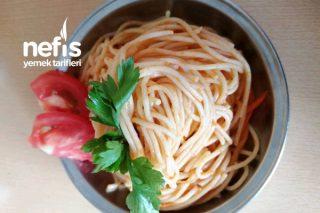 Kabaklı Ve Havuçlu Spaghetti Tarifi