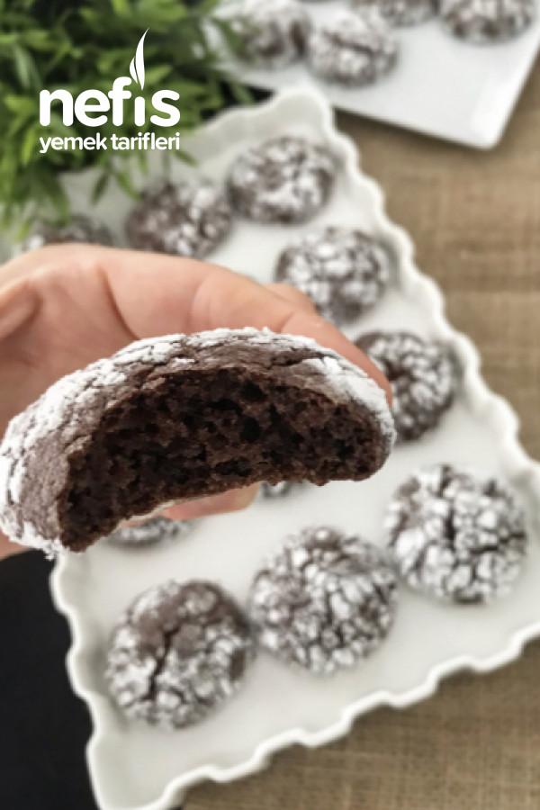 Brownie Çatlak Kurabiye