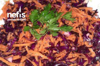 Havuç Ve Mor Lahana Salatası Tarifi