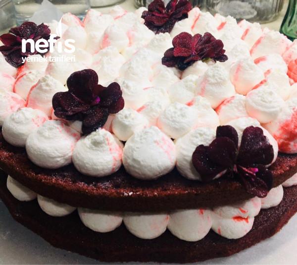 Teremyağlı Red Velvet Pasta