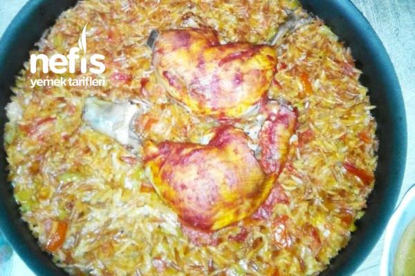 Teremyağlı Tavuklu Büryan Kebabı Tarifi