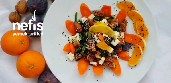 İncirli Ispanak Salatası