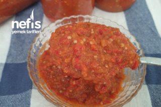 Köz Patlıcan-Biber Sosu Tarifi