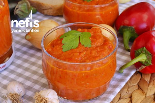 Patlıcanlı Sos (Ajvar)