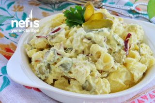 Soslu Patates Salatası Tarifi