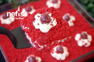 Borcamda Kadife Pasta (Red Velvet) Tarifi