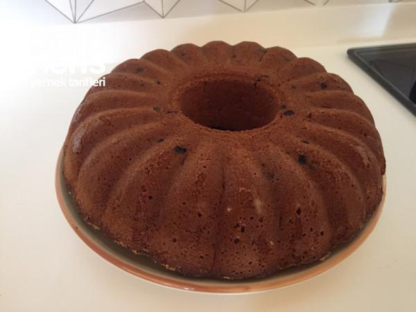 Damla çikolatalı cevizli Kek