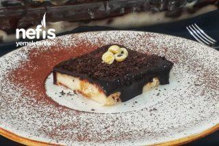 Borcamda Çikolata Soslu Etimek Tatlısı (Nefis) Tarifi