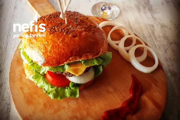 Teremyağlı Ev Burger Tarifi