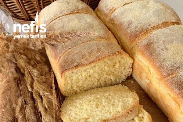 Kek Kalıbında Mısır Unlu Ekmek Tarifi