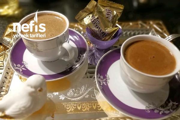 Kız İstemelerinin Gözdesi Çikolatalı Türk Kahvesi Tarifi