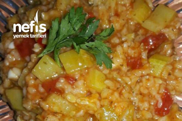 Pirinçli Kabak Yemeği Tarifi