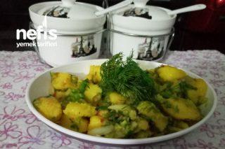 Sağlıklı Patates Salatası Tarifi