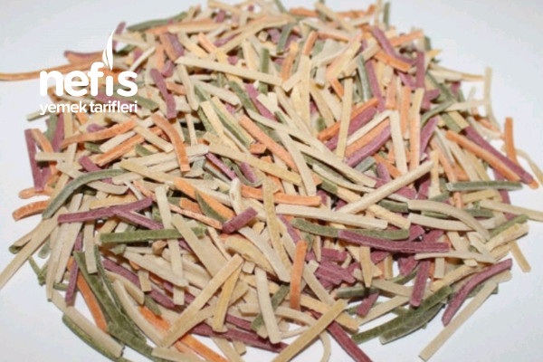 Sebzeli Bol Vitaminli Erişte Tarifi