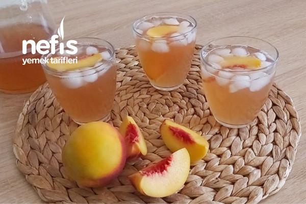 Ev Yapımı Soğuk Çay / Şeftalili Ice Tea / Soğuk Çay ( Videolu ) Tarifi