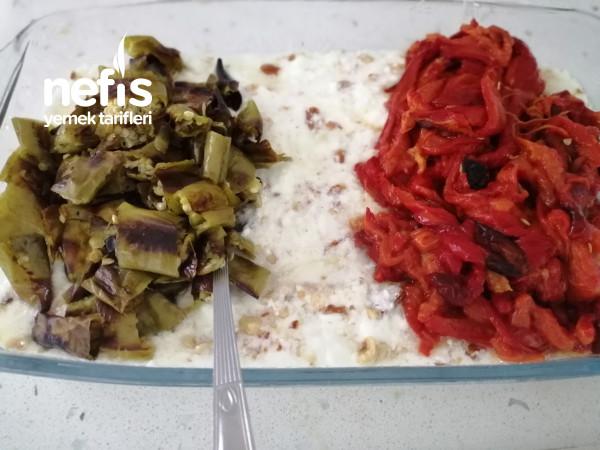Közlenmiş Kapya Ve Sivri Biber Salatası, Lezzeti Harika,.