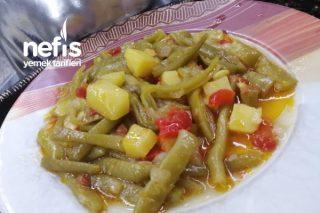 Patates Ve Biberli Zeytin Yağlı Taze Fasulye Tarifi
