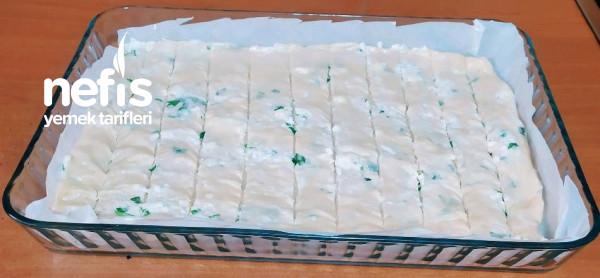 Peynirli Katmer Böreği