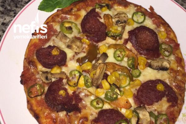 Pratik Hazırını Aratmayacak Pizza Tarifi